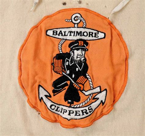 noel price baltimore clippers wool game worn