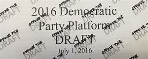 The Democratic Party Platform Has No Plans for Peace ...