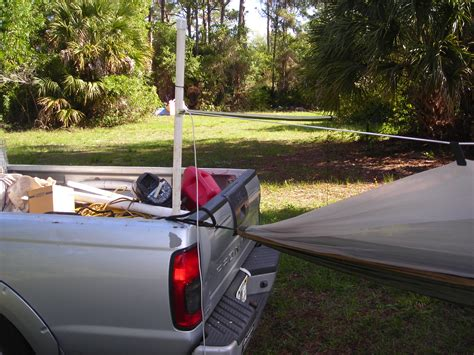 Truck Hammock by Hammock Cing With A Single Tree Florida Hillbilly