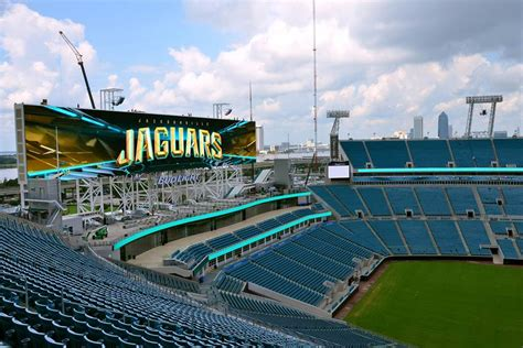 Jaguars To Unveil World's Largest Video Boards Saturday