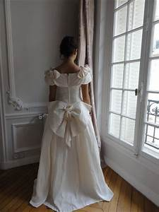 Robe De Mariée Romantique : robe de mari e vintage soie romantique intemporelle ~ Nature-et-papiers.com Idées de Décoration