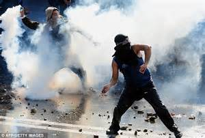 Masked gangs clash with police in protest over dams in ...
