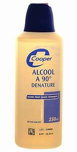 Alcool à 90 Degrés : antiseptiques cooper alcool 90 d natur 250ml ~ Dailycaller-alerts.com Idées de Décoration
