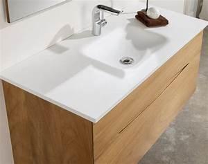 Meuble Salle De Bain 90 : meubles lave mains robinetteries meuble sdb meuble de salle de bain en bois iroko massif ~ Teatrodelosmanantiales.com Idées de Décoration