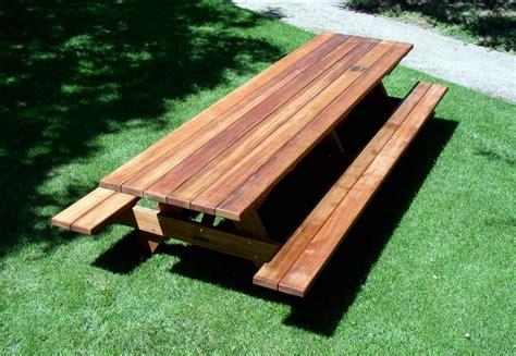 woodwork large picnic table plans  plans picnic table