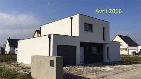 Toiture Maison En L by Construction Maison Toiture Terrasse Bas Rhin