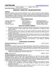 ecommerce executive resume sle retail ecommerce resume sales retail lewesmr