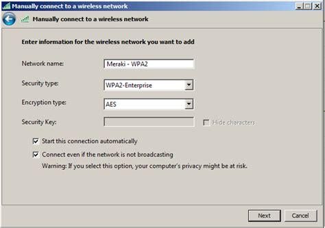 Enabling Wpa2enterprise In Windows Vista And Windows 7