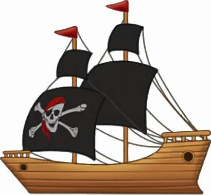 Piratenschiff Segeln Holz Aus Pirateship Domain