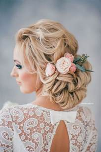 wedding hairstyles updos curly low updo wedding hairstyle for hair deer pearl flowers