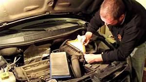 2010 Dodge Caliber Engine Air Filter Replacement