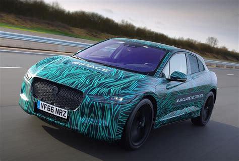 jaguar reveals prototype   pace electric suv