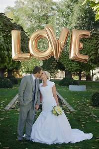 Love balloons 40 inch giant letter balloons wedding for Giant letters for wedding