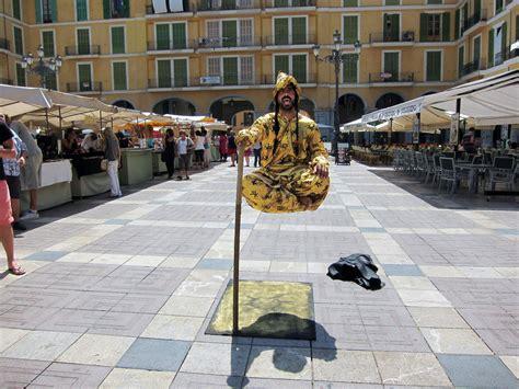 The Secret Way Those Street Performers Levitate Street