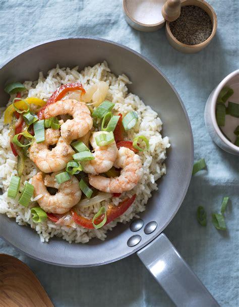 chinois pour cuisine riz sauté aux crevettes pour 4 personnes recettes à