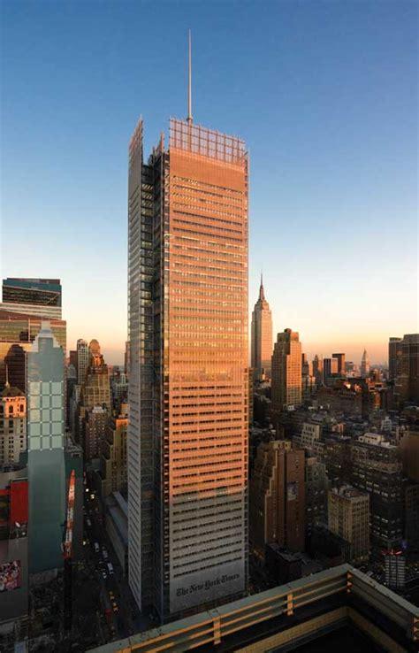 york times headquarters renzo piano building