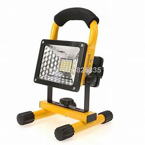 Portable led flood light ip spotlight street outdoor
