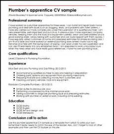 apprenticeship resume for hairdressing plumber apprentice cv sle myperfectcv