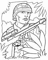 Army Coloring Pages Printable sketch template
