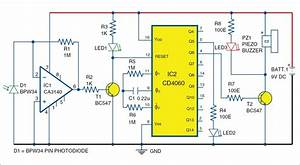 Pin Diode Based Fire Sensor