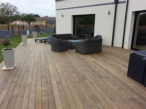 modele de terrasse en bois exterieur get green design de With modele de terrasse en bois exterieur 0 quel bois choisir pour une terrasse en bois