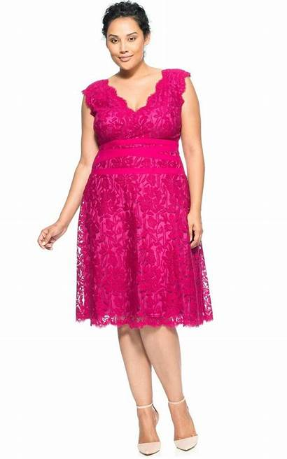 Plus Pink Dresses Aline Party Chiffon Tiered
