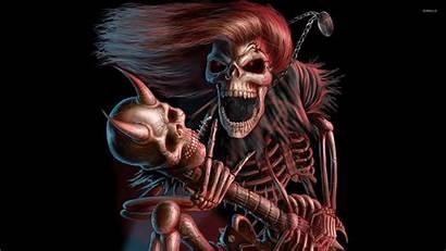 Skeleton Fantasy 3d Monster Scary Skeletons Wallpapers