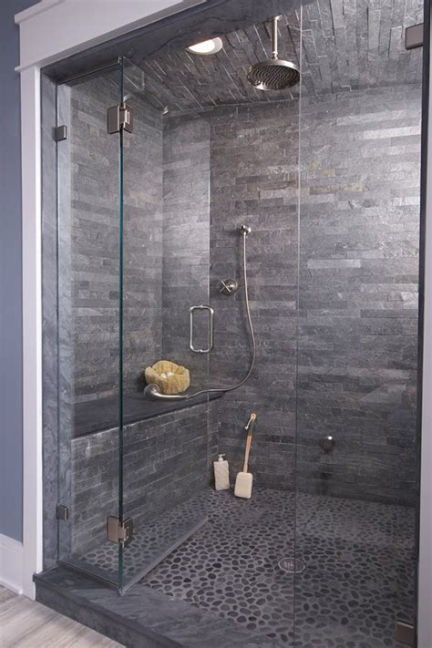 subway tile shower bench 37 grey slate bathroom wall tiles ideas and pictures