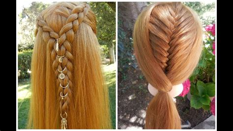 tuto coiffures tresse africaine hair charms tresse 233 pi de bl 233 coll 233 e