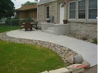 great concrete slab patio design ideas Concrete Patios - A. Pietig Concrete & Brick Paving