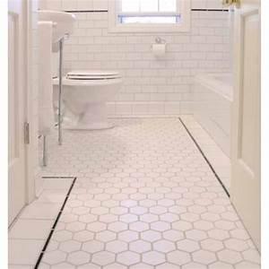hexagon porcelain tile white matte porcelain tile NON-SLIP ...