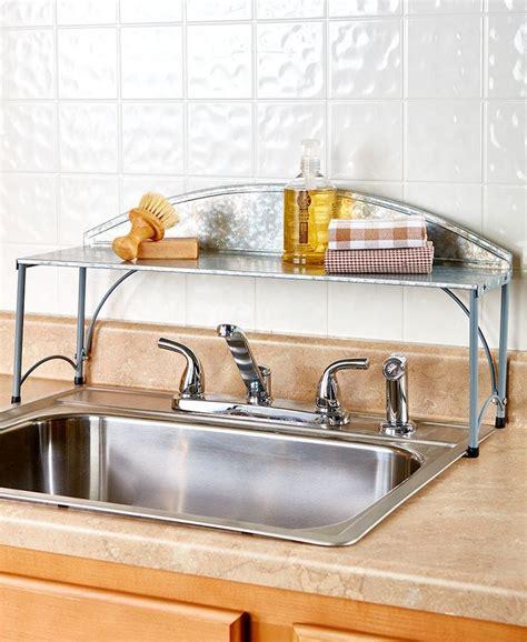 kitchen sink organizer shelf 25 best ideas about sink shelf on shelves
