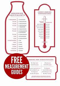 Debt Free Charts Download Your Free Measurement Guides Kitchen