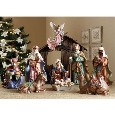 classic nativity set royal doulton figurine seaway