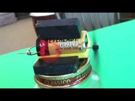 Electric Motor Experiment by Electricity And Magnetism Simple Electric Motor