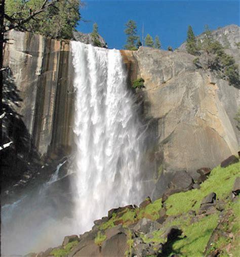 Vernal Fall Waterfall Yosemite National Park California
