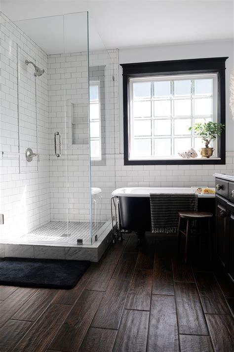 Modern White Bathroom Floor Tile by White Subway Tile Grey Grout Shower Bathroom Modern