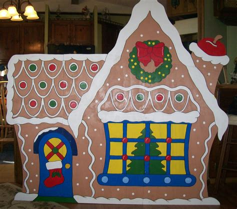 christmas gingerbread house large yard decoration ebay