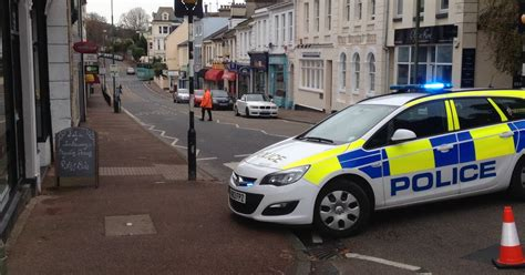 Police Confirm Man Airlifted To Hospital After Torquay