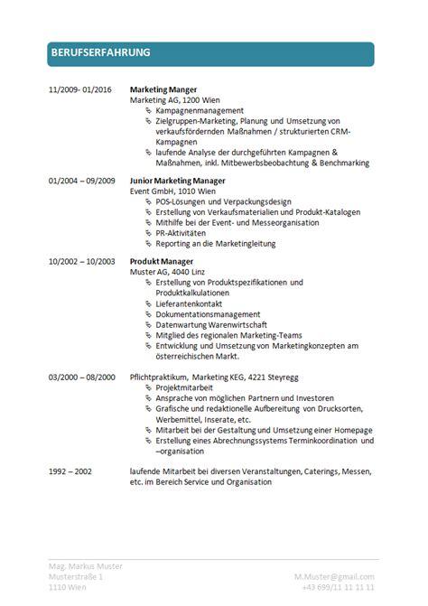 Standard Lebenslauf Vorlage by Lebenslauf Vorlagen 2019 Kostenloser Der