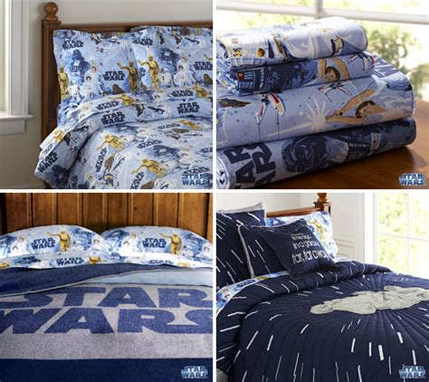 Wars Bed Sheets by Pottery Barn Makes Wars Bedsheets Cool Again