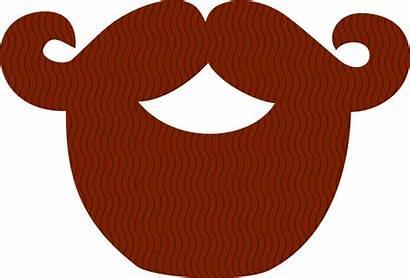Beard Pirate Facial Hair Clipart Vector Brown