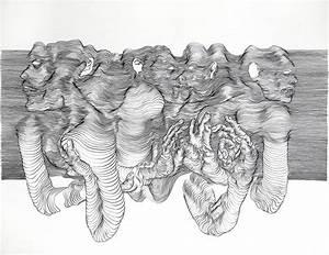 3d Pencil Line Drawing