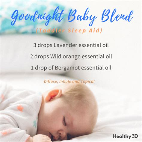 Goodnight Baby Blend Toddler Sleep Aid Healthy 3d
