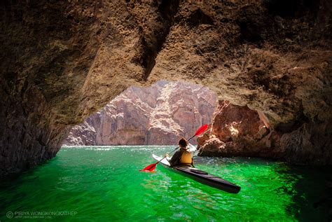 Boulder Boats Az by Kayaking In The Emerald Cave In Colorado River Lake Mead