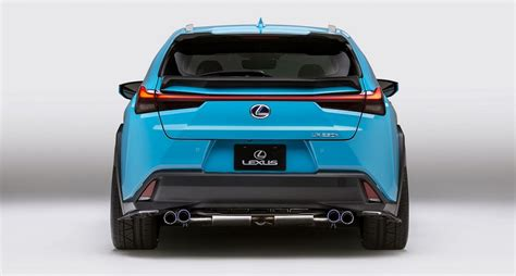 inspiration series concept sportovnejsi lexus ux auta