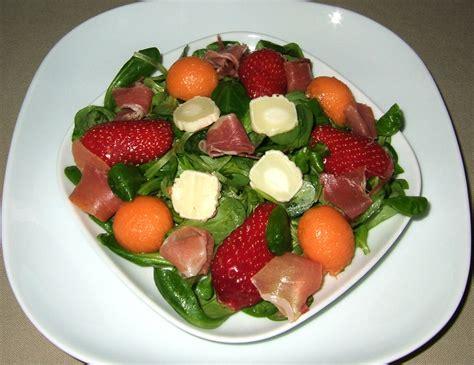 recettes de melon par ma cuisine santé salade de mâches
