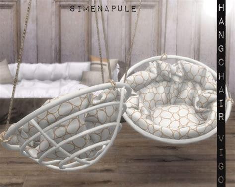 hang chair vigo  ronja  simenapule sims  updates