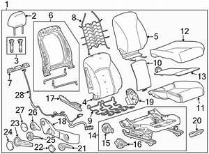Chevrolet Cruze Power Seat Wiring Harness  W  O Heated Seat