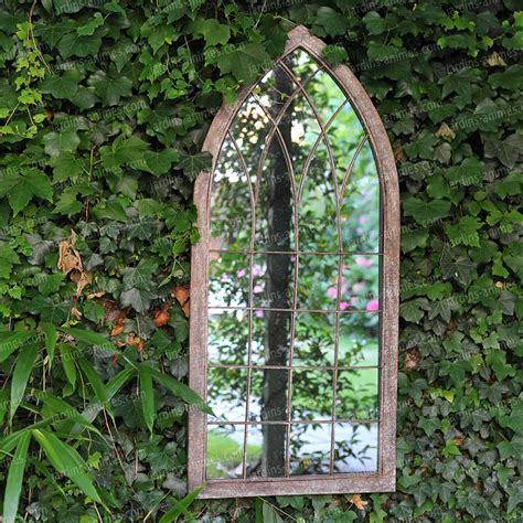 miroir fen 234 tre de jardin 109cm mobilier de jardin